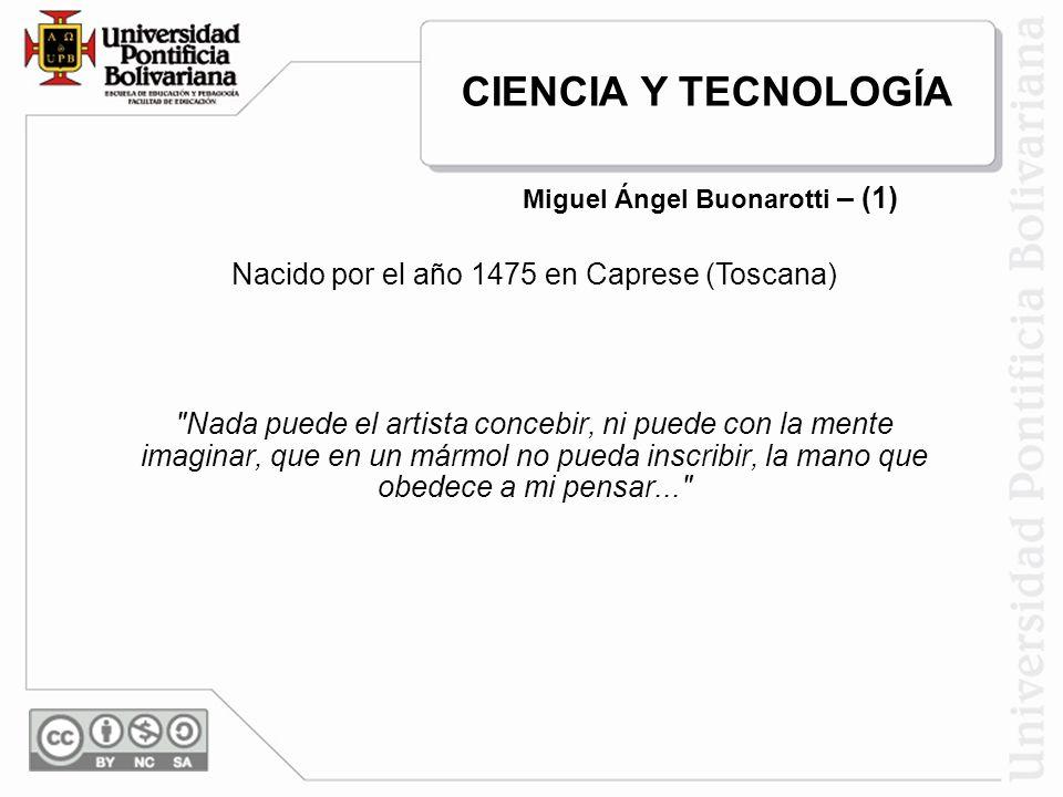 Miguel Angel llegó a Roma en 1496.De inmediato puso manos a la obra, con un vigor impresionante.