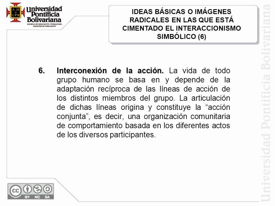 6.Interconexión de la acción.6. Interconexión de la acción.