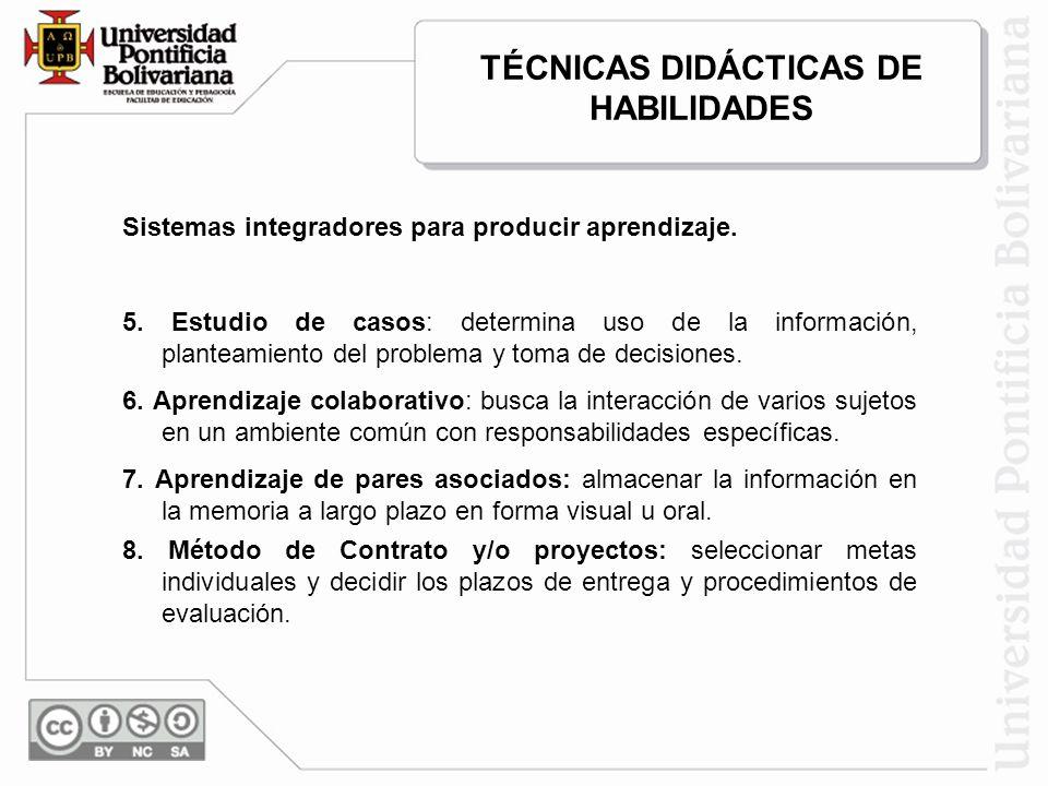 Sistemas integradores para producir aprendizaje.9.