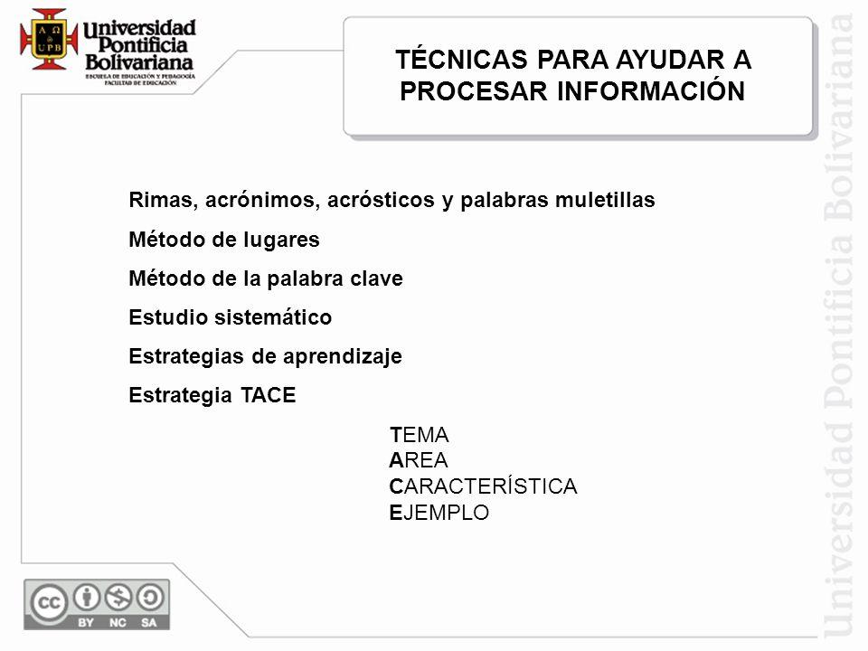 Técnicas para ayudar en los procesos de aprendizaje colaborativo y en las comunidades interactivas de aprendizaje.