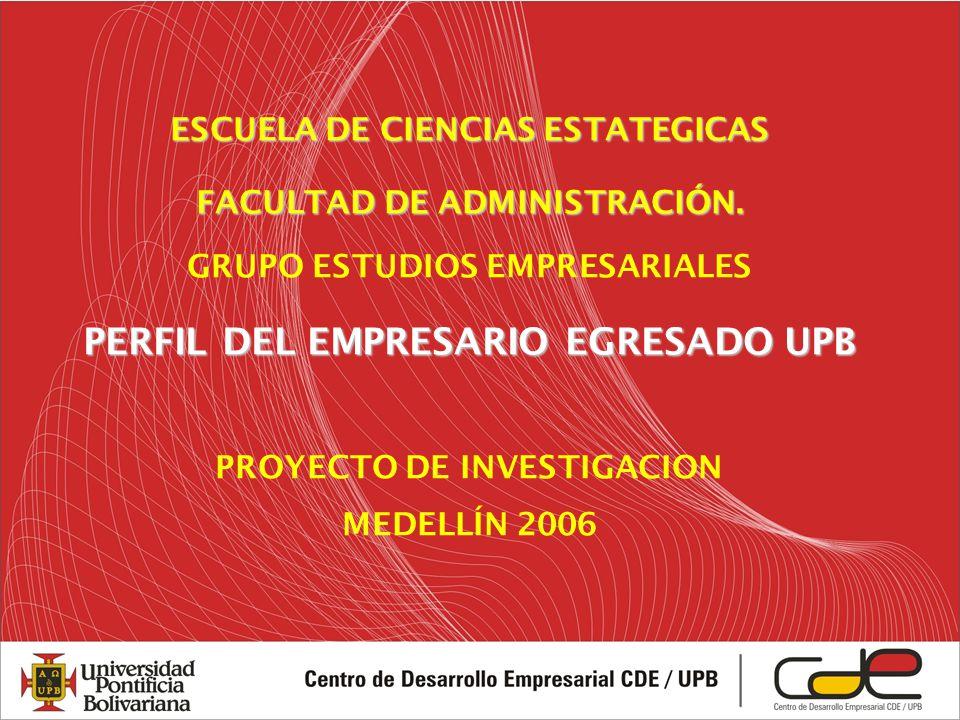 ESCUELA DE CIENCIAS ESTATEGICAS FACULTAD DE ADMINISTRACIÓN.