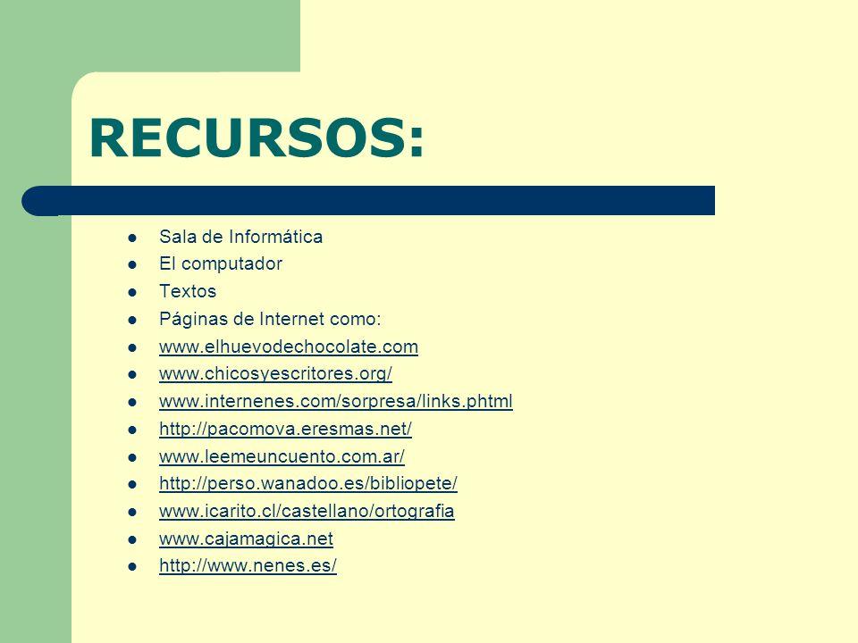 HERRAMIENTAS PARA EL ANDAMIAJE Lectura de textos narrativos en Internet.