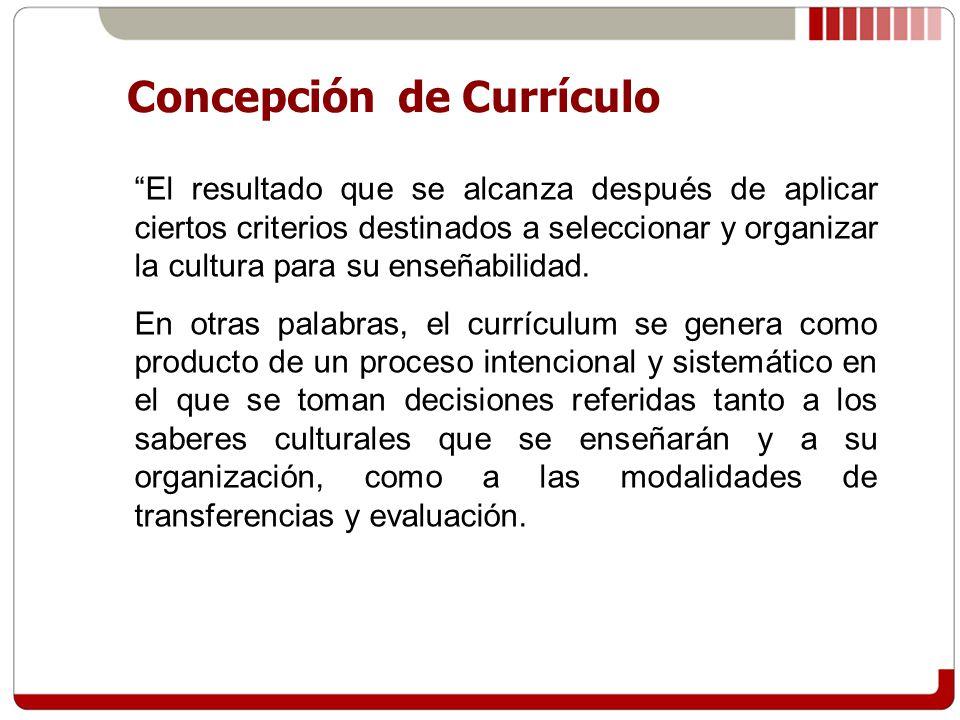 Las decisiones curriculares se toman tanto a nivel social (nacional, local), institucional, como de aula.