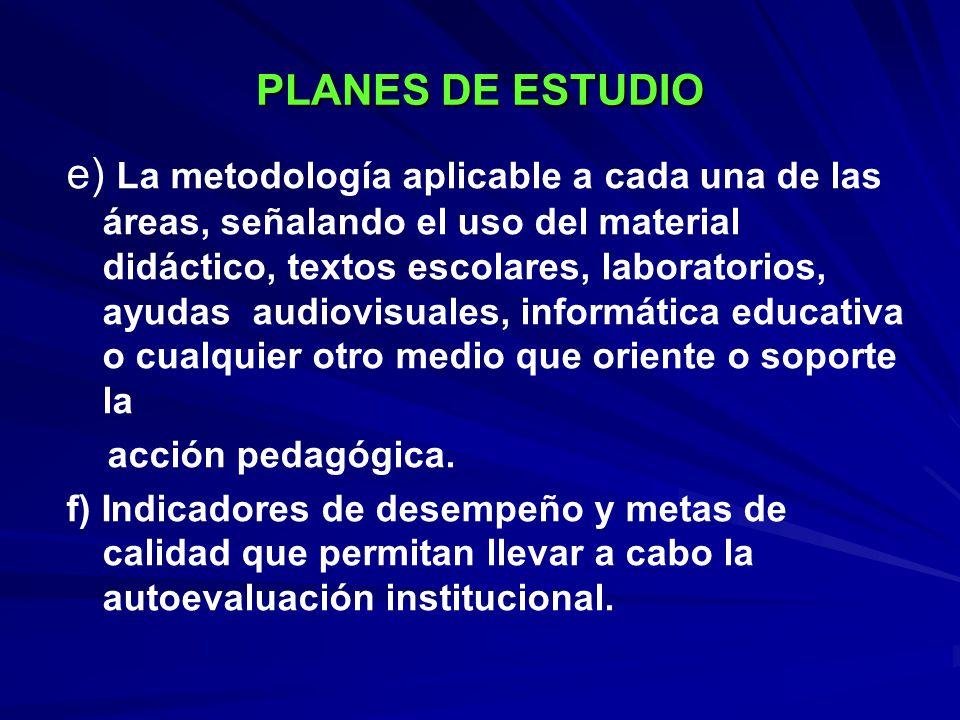 ESTRUCTURA Contenidos Objetivos, metas, logros, indicadores EstándaresMetodología Criterios de evaluación Criterios de administración Planeación de actividades pedagógicas Bibliografía