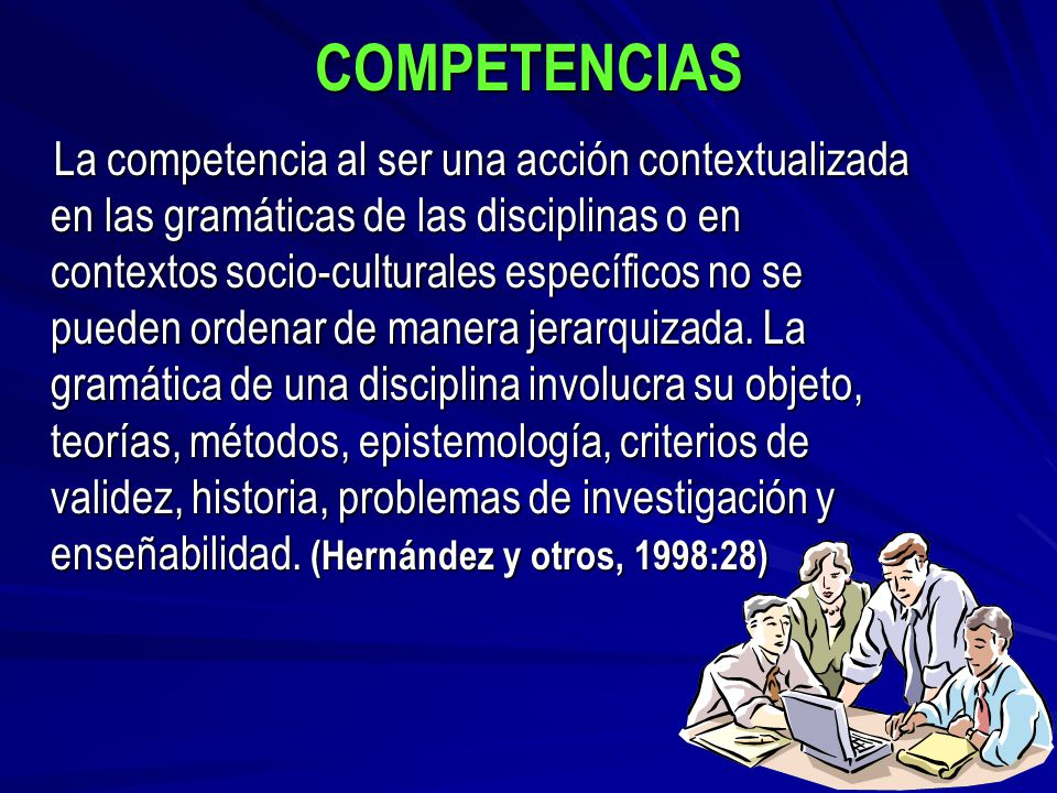 COMPETENCIA EPISTEMOLÓGICA Indicación Observación Teorización Distinción
