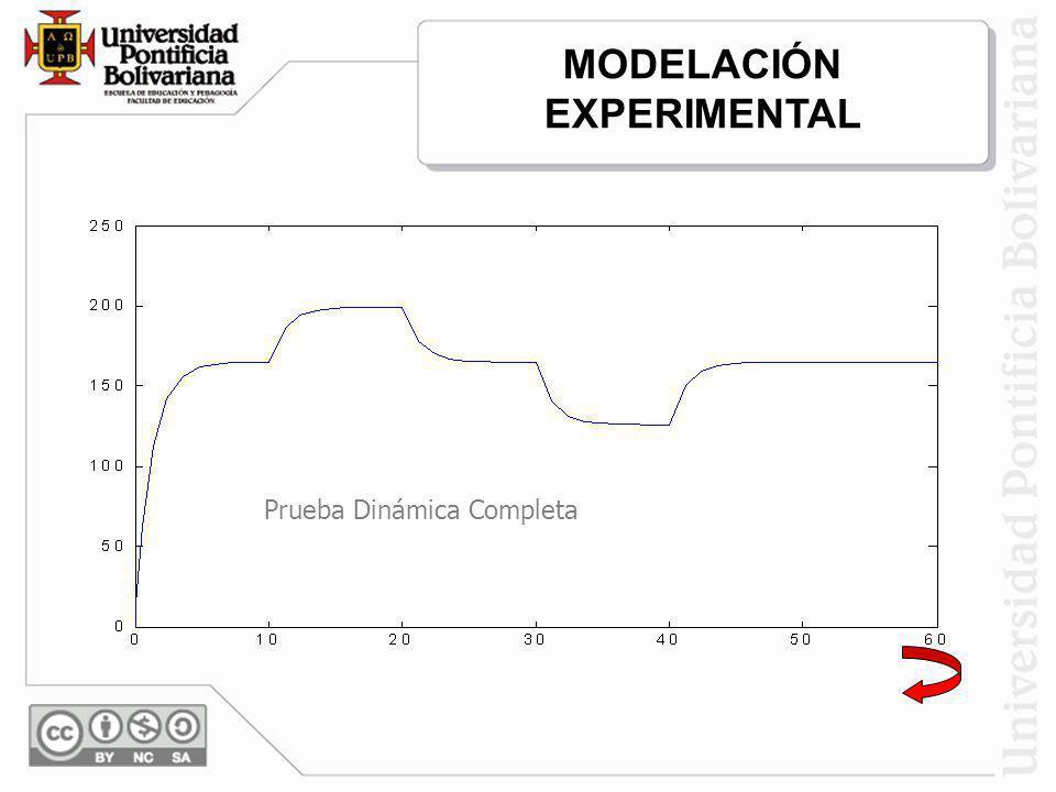 Prueba Dinámica Completa MODELACIÓN EXPERIMENTAL