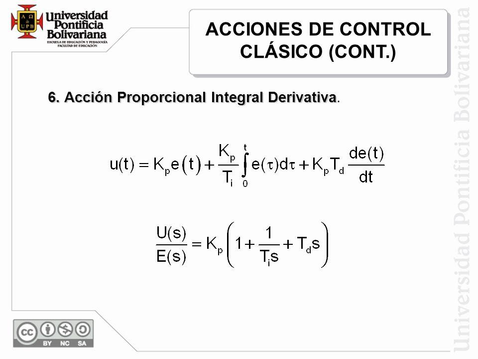 El valor de T se calcula de tal manera que el atraso de fase que tiene naturalmente el controlador no afecte el margen de fase obtenido.