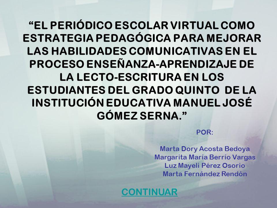 INSTITUCIÓN: MANUEL JOSÉ GÓMEZ SERNA NÚCLEO EDUCATIVO: 920 DIRECCIÓN: CALLE 96.