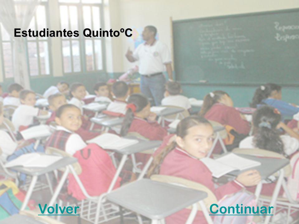 VolverContinuar Estudiantes QuintoºC
