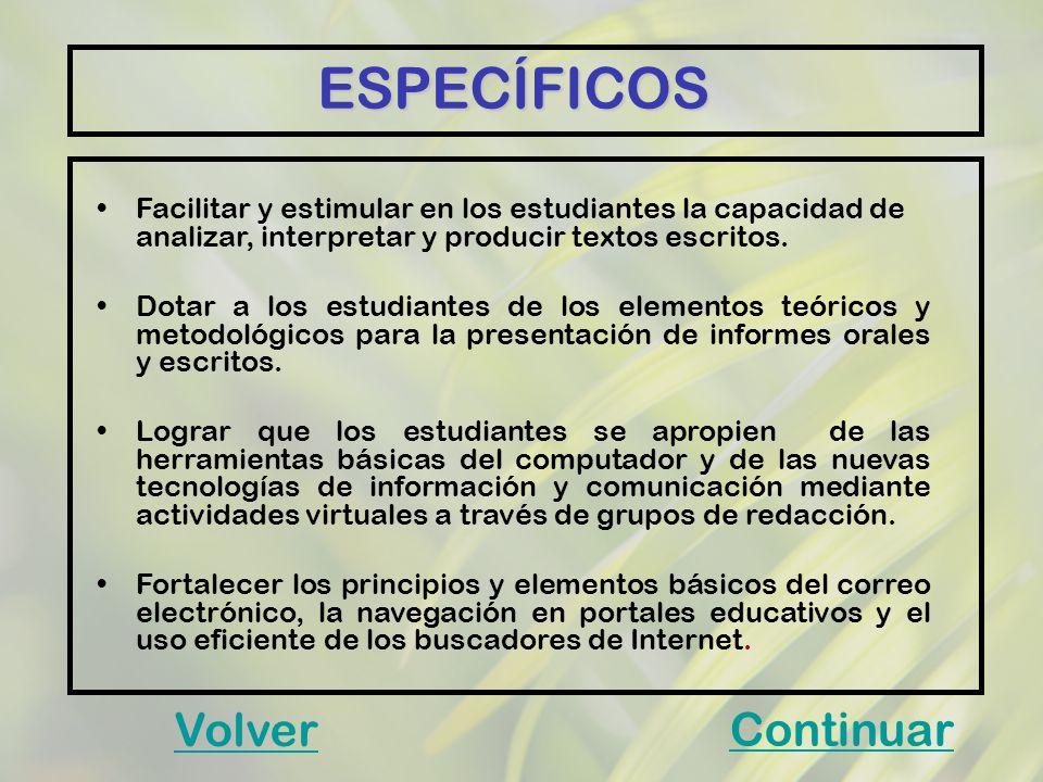 MARCO REFERENCIAL DESARROLLO DE HABILIDADES COMUNICATIVAS EN EL PROCESO DE LECTO - ESCRITURA CON INCORPORACIÓN DE TIC EN LOS ESTUDIANTES DEL GRADO QUINTO DE LA INSTITUCIÓN EDUCATIVA MANUEL JOSÉ GÓMEZ SERNA GESTIÓN PEDAGOGICA E INCORPORACIÓN DE TIC AMBIENTES DE APRENDIZAJE INTEGRACIÓN CURRICULAR MÓDULO DE EVALUACIÓN ESTRUCTURAS Y COMPETENCIAS Volver