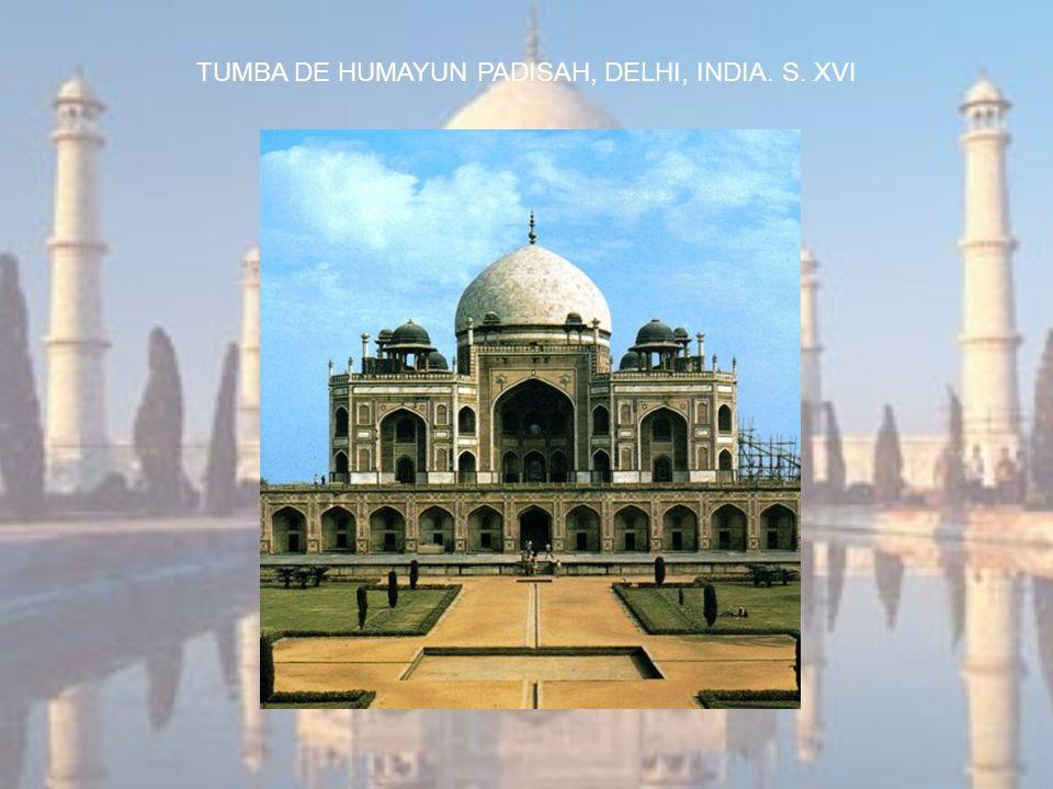 TUMBA DE HUMAYUN PADISAH, DELHI, INDIA. S. XVI