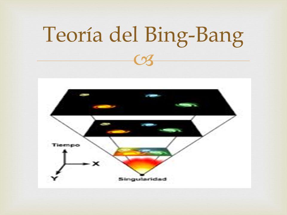 Teoría del Bing-Bang