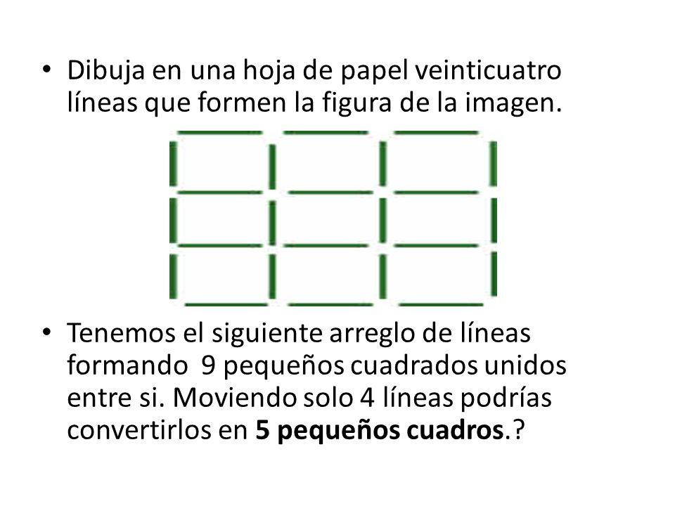El siguiente arreglo de círculos esta formado por 9 pequeños círculos, podrías colocar un numero del 1 al 9 dentro de cada circulo (sin repetir algún numero), de tal manera que la suma de los tres círculos conectados horizontalmente, verticalmente o en diagonal sea15.