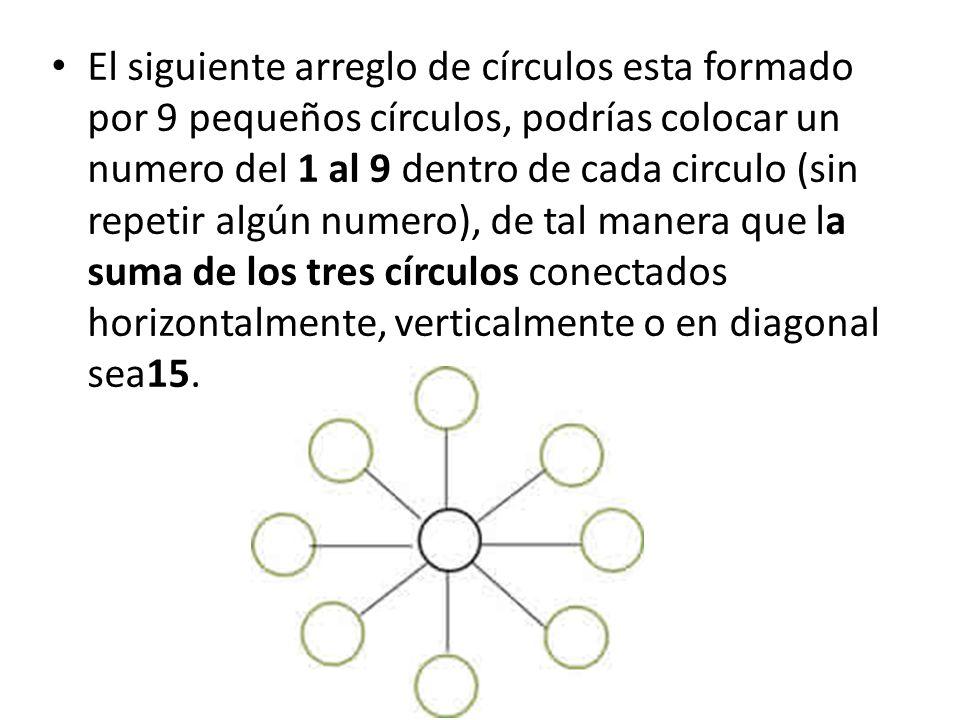 Tenemos el siguiente arreglo de pequeñas líneas que forman 9 cuadros unidos, quitando solo 4 de estas líneas, podrías convertir los 9 cuadrados en tan solo 6.