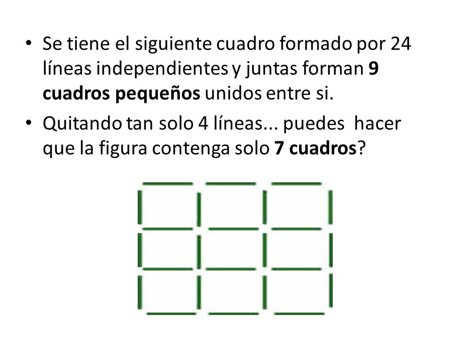 En que momento el arreglo de números de la imagen es correcto?.