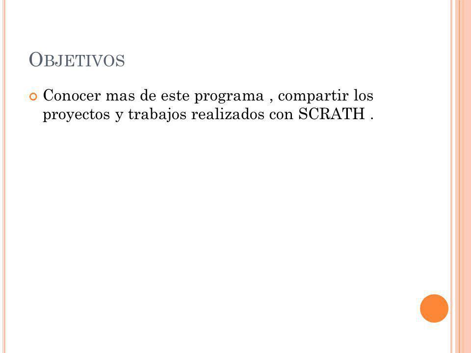 CONTENIDO 1.Programación en scratch 1.1 Entorno y lenguaje 2.