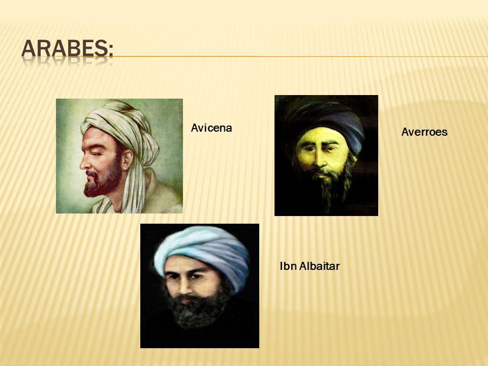 Avicena Averroes Ibn Albaitar