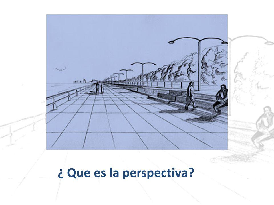 ¿ Que es la perspectiva?