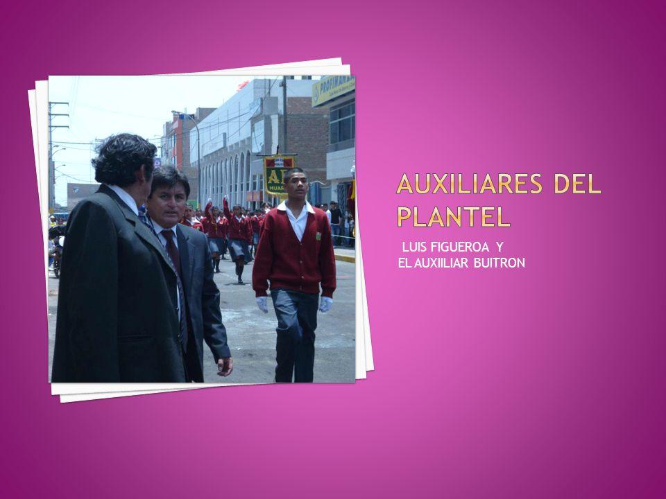 LUIS FIGUEROA Y EL AUXIILIAR BUITRON