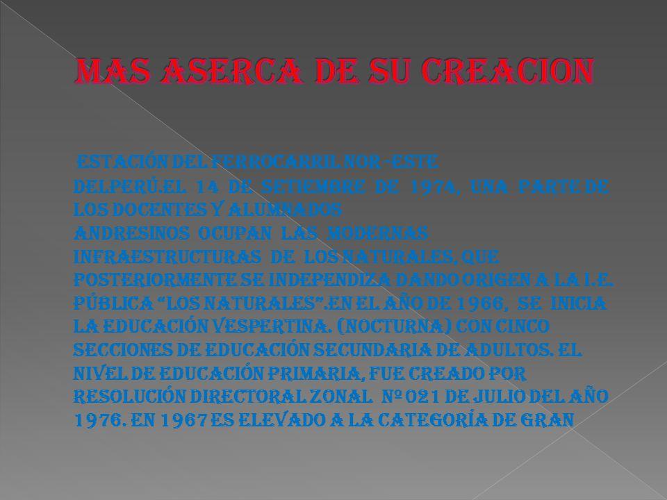 Unidad Escolar, por Resolución Suprema Nº 856.Han sido Directores de la Institución Educativa Pública Andrés de los Reyes los siguientes Docentes: 1962 Dr.
