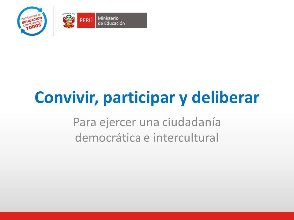 ¿Por qué ciudadanía apostamos? democráticae interculturalCiudadanía