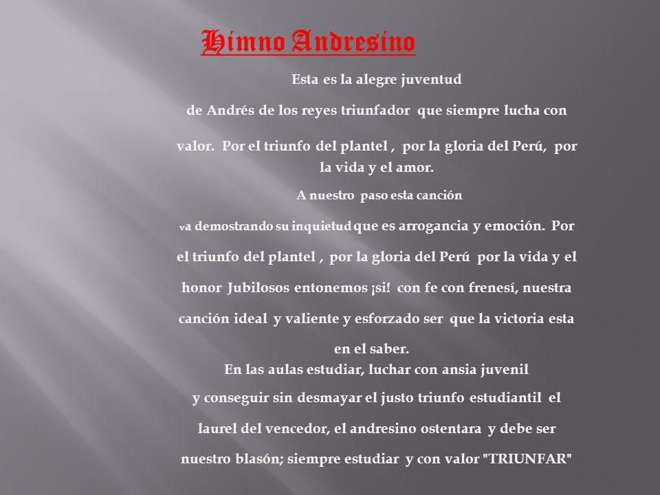 - Autor de la Música: José Bernardo Alcedo. - Autor de la Letra: José de La Torre Ugarte. Ambos compositores ganaron el concurso que convocó el Protec