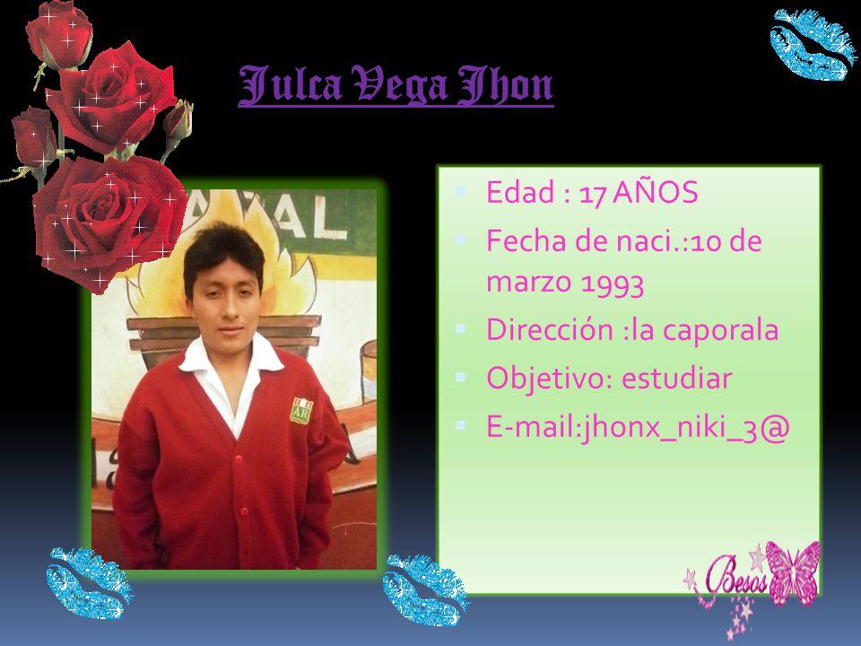 Alba Corpus Elmer Edad : 18 años Fecha de naci.: 17 marzo de 1993 Dirección :los bomberos Objetivo: formar un grupo de música E-mail: el romantico_pic