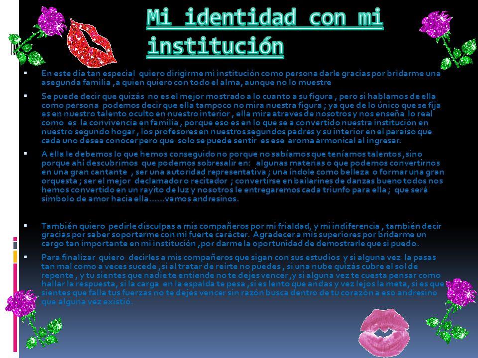 La Institución educativa Pública Andrés de los Reyes cuenta con su propio Himno Andresino, que tiene como autor de la música al Sr. Julio Congrains, y