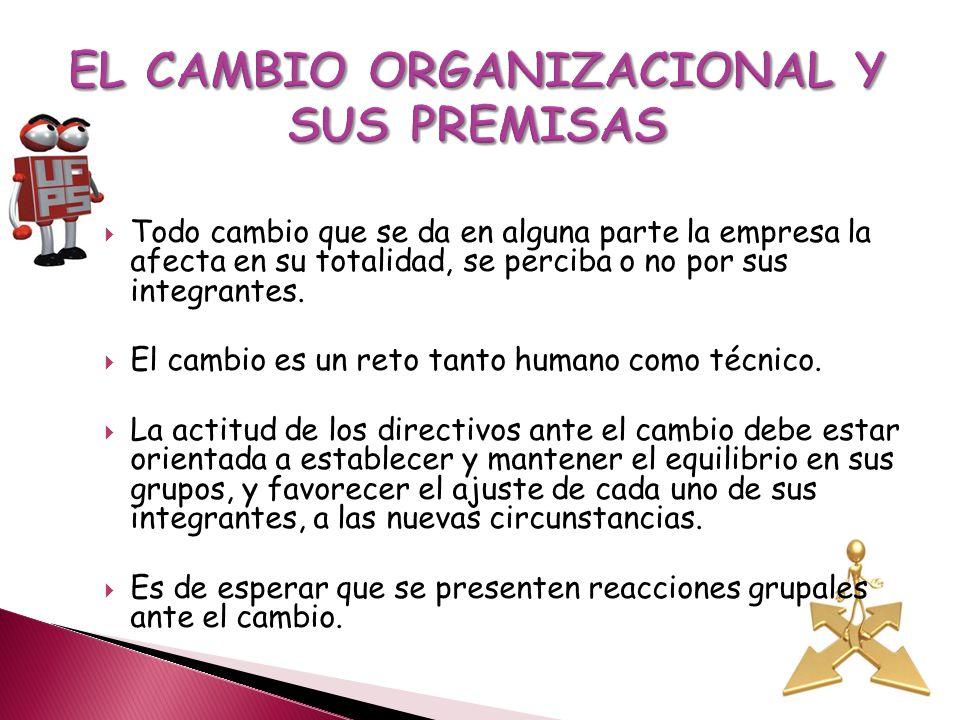 Las organizaciones exitosas son aquellas que su adaptación y capacidad para asumir los cambios los encaran de forma positiva y proactiva, las organizaciones que aprenden, son aquellas que están dispuestas a asumir nuevos roles y responsabilidades y que técnicamente están en continuo avance y capacitación