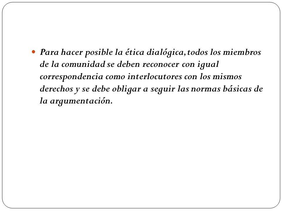 Cuando nos comunicamos sin interés estratégico estamos respetando unas normas: a) Todos tenemos el mismo derecho a hablar.