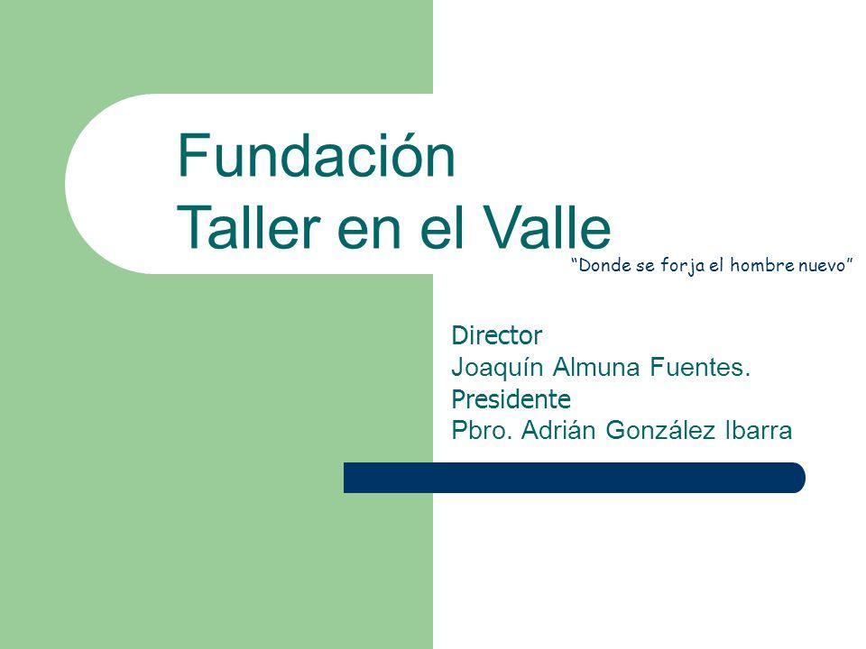 Director Joaquín Almuna Fuentes. Presidente Pbro.