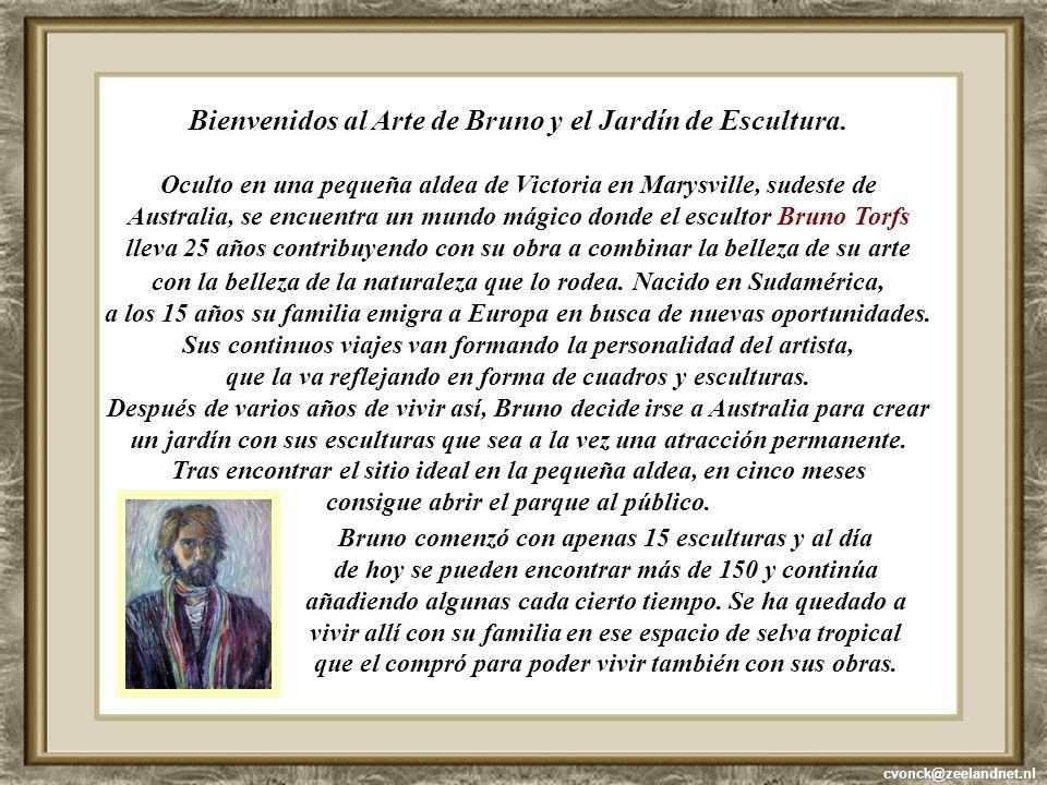 Bienvenidos al Arte de Bruno y el Jardín de Escultura.