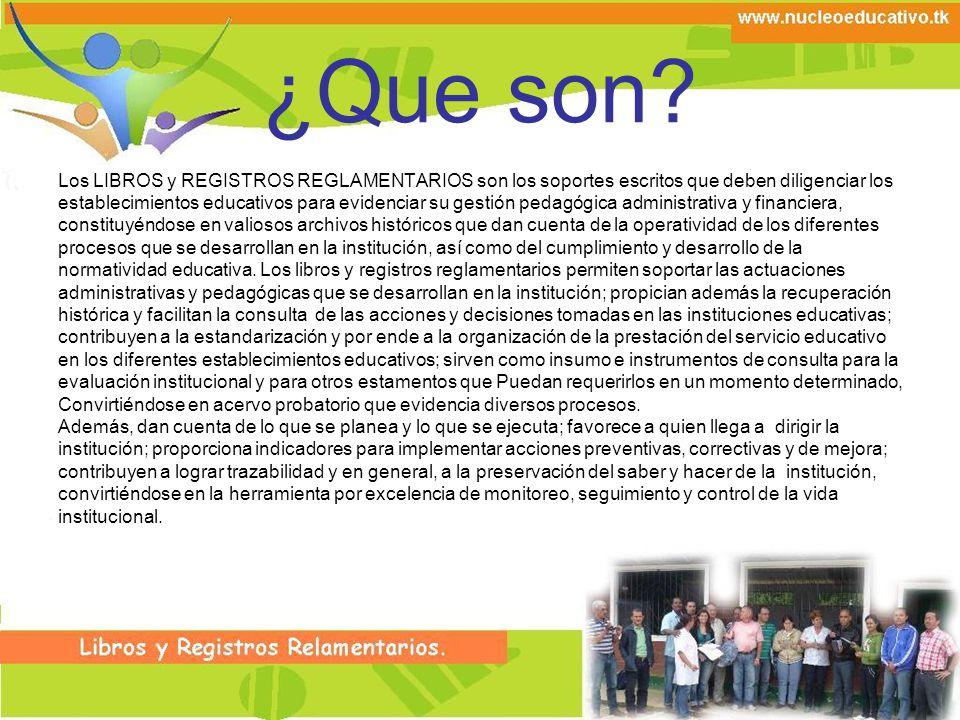 Libro Registro de Diplomas.