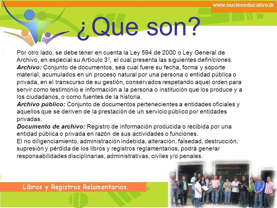 Libro de Validaciones En este libro se preserva la información sobre los resultados de las validaciones que presentan los estudiantes, de acuerdo a lo establecido en el Decreto 2832 de 2005.