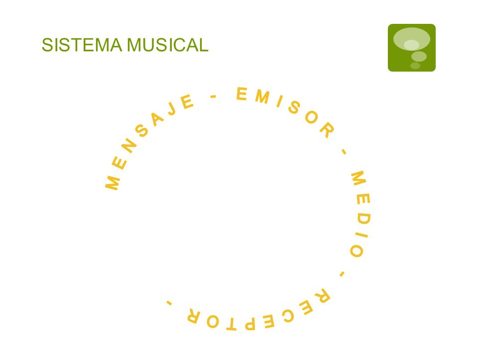 SISTEMA MUSICAL