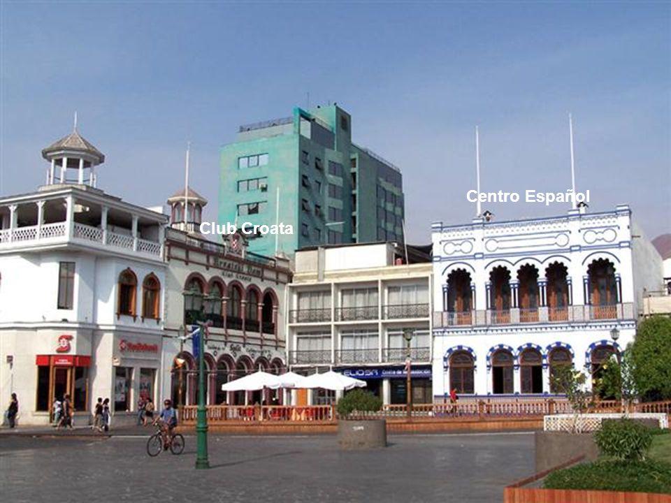 Teatro Municipal, inaugurado en 1.880 como teatro de opera.
