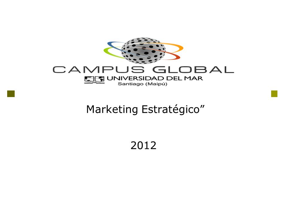 Marketing Estratégico 2012