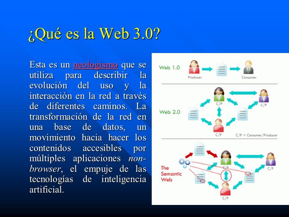 ¿Qué es la Web 3.0.