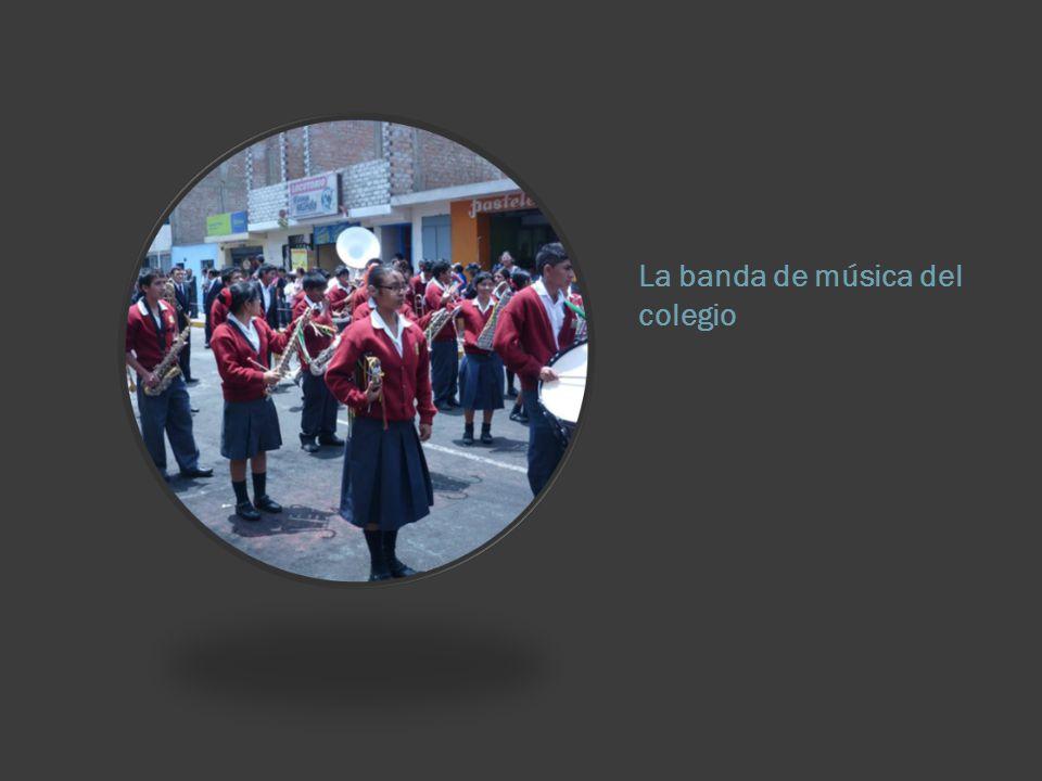 La banda de música del colegio