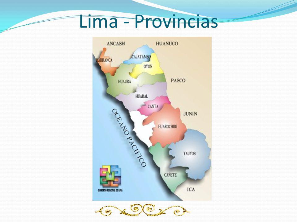 Lima - Provincias