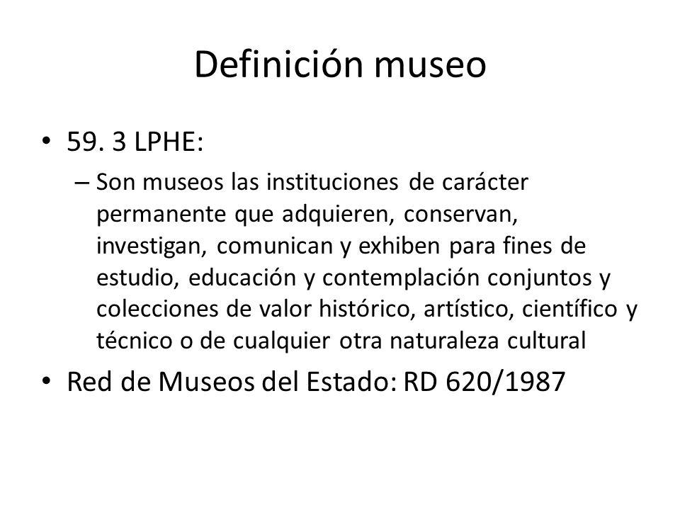Definición museo 59.