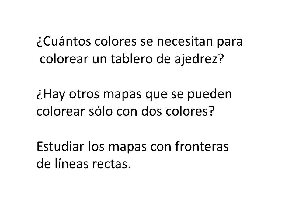 ¿Se puede colorear éste mapa con sólo tres colores?
