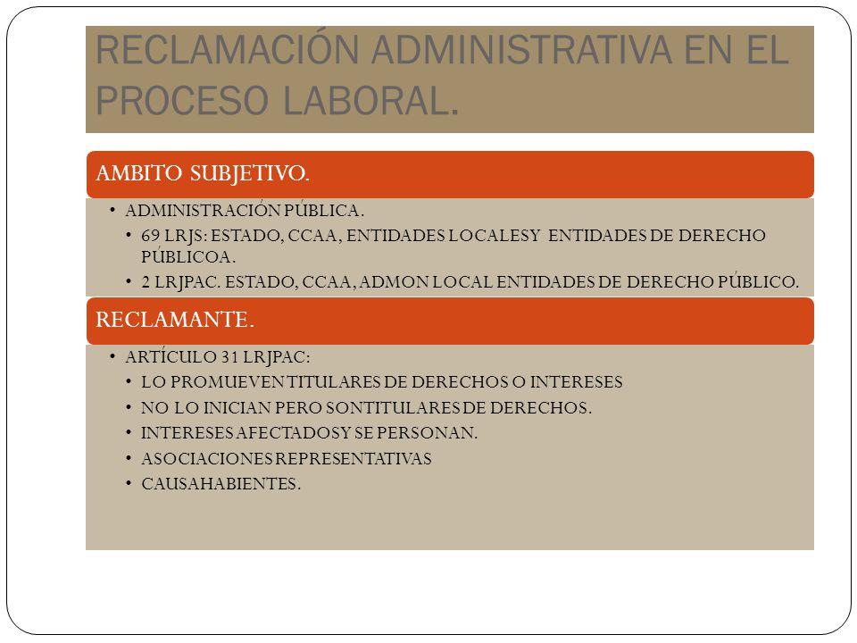 EFECTOS JURÍDICOS DE LA R.P. 73 LPL PRESCRIPCIÓN. INTERRUMPE CADUCIDAD. SUSPENDE.