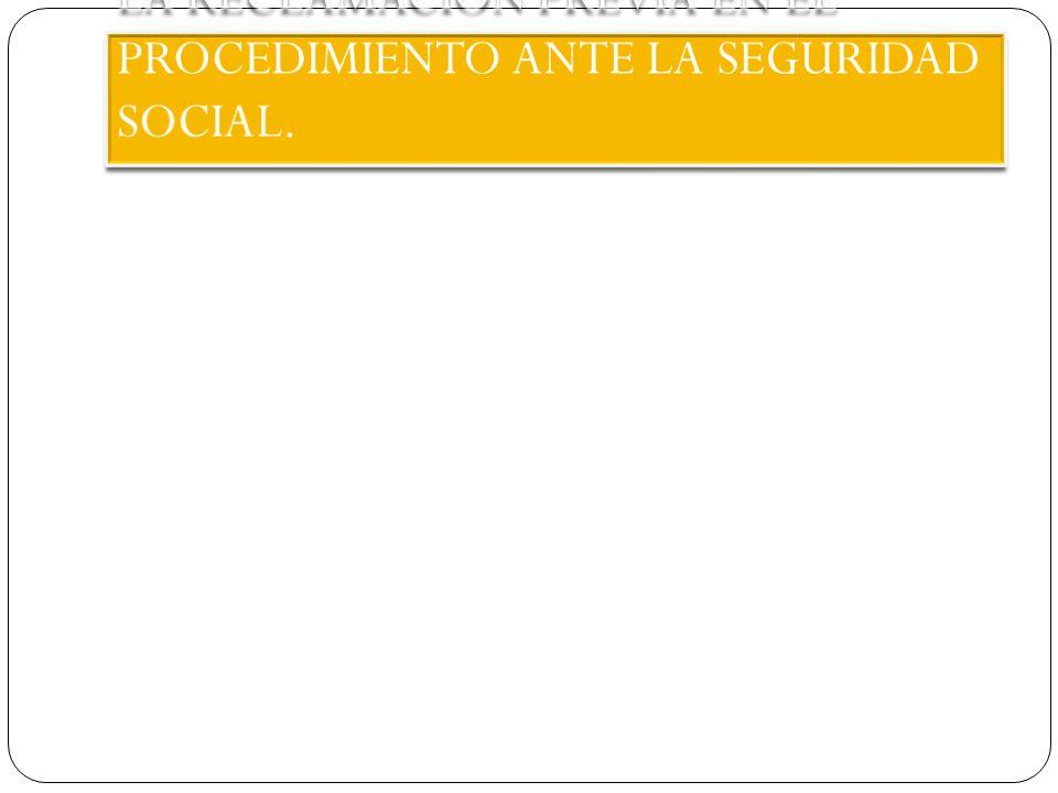 PECULIARIDAD DE LA R.P.EN MATERIA DE SEGURIDAD SOCIAL.