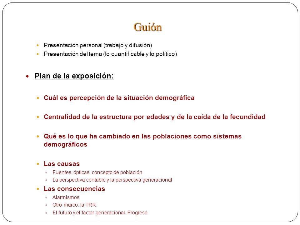 Presentación personal (trabajo y difusión) Presentación del tema (lo cuantificable y lo político) Plan de la exposición: Cuál es percepción de la situ