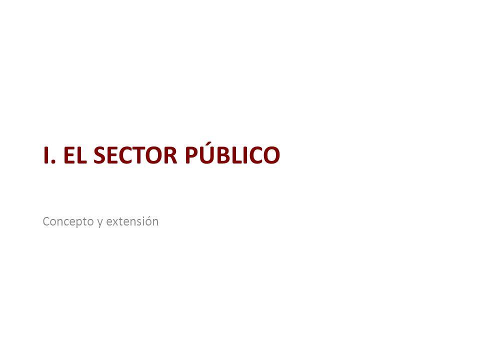 ¿Qué es el sector público.