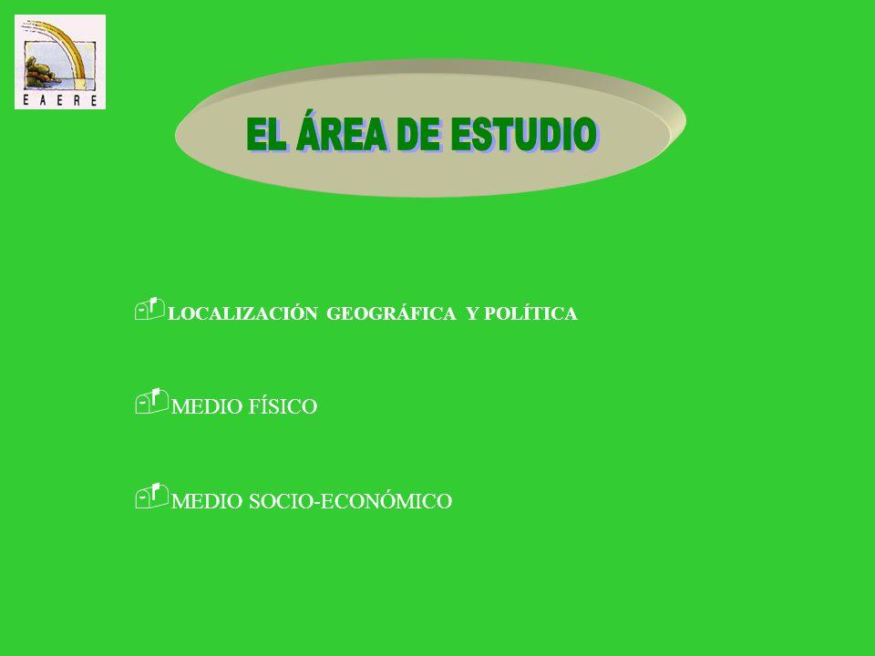 * Presentación del área de estudio * Objetivos y metodología * Construcción del modelo * Validación y escenarios * Conclusiones y líneas futuras
