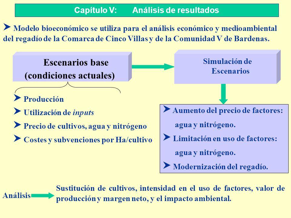 S Modelo bioeconómico se utiliza para el análisis económico y medioambiental del regadío de la Comarca de Cinco Villas y de la Comunidad V de Bardenas