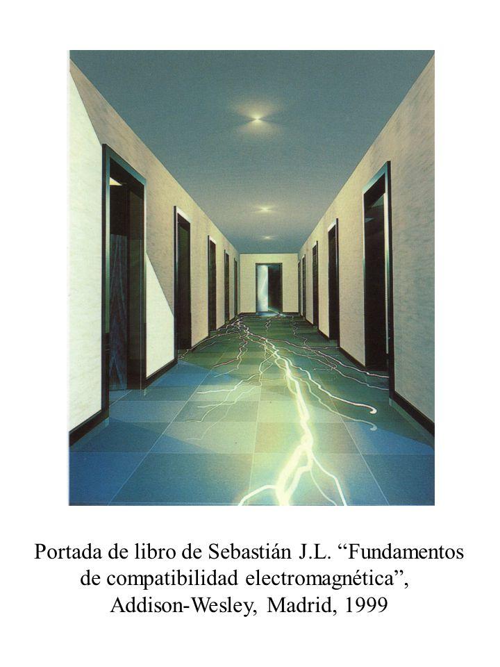 Portada de libro de Sebastián J.L. Fundamentos de compatibilidad electromagnética, Addison-Wesley, Madrid, 1999