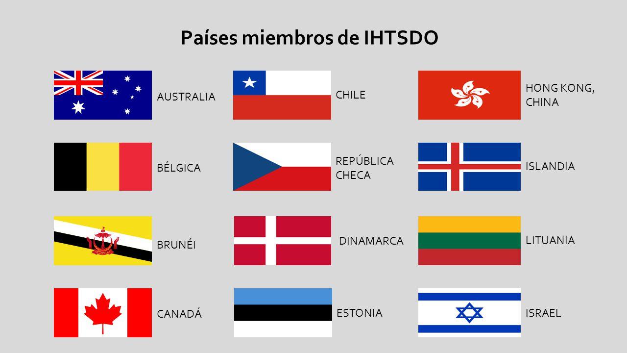 AUSTRALIA BÉLGICA BRUNÉI CANADÁ CHILE Países miembros de IHTSDO REPÚBLICA CHECA DINAMARCA ESTONIA HONG KONG, CHINA ISLANDIA LITUANIA ISRAEL
